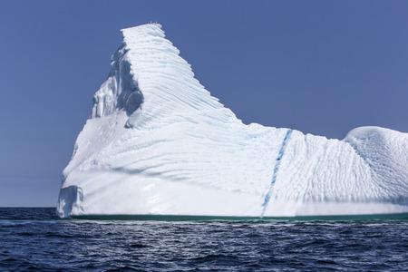 frigid: iceberg near St  Anthony, Newfoundland, Canada