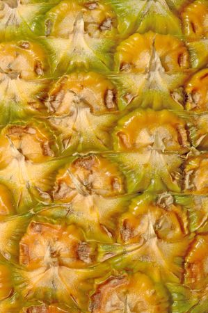 Pineapple- sunlighted macro, extreme close up, 12MP camera. photo