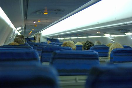 Jet interior with passengers (12MP camera).