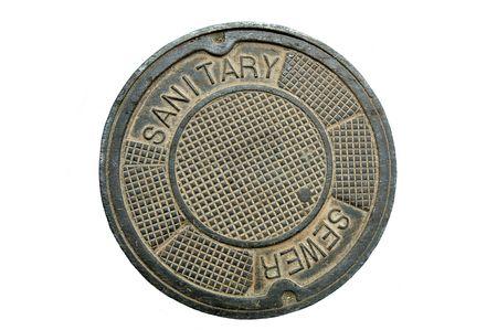 Manhole cover (12MP camera, isolated).