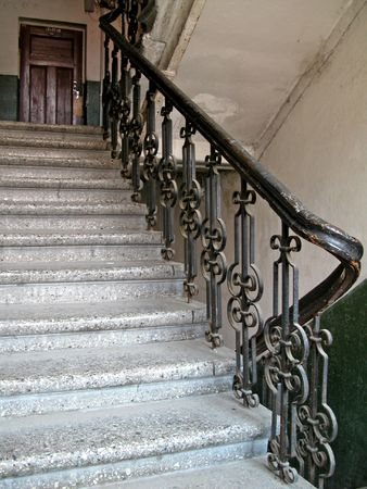 outworn: Old staircase