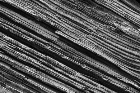 Black and white old natural rotten wood texture Stock Photo - 3080691