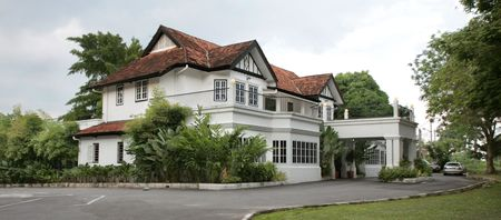 standalone: Old refurbished colonial house in Perak Malaysia