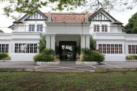 refurbished: Old refurbished colonial house in Perak Malaysia