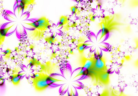 Abstract flowers Stock Photo - 957964