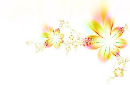 Dreamlike flowers Stock Photo