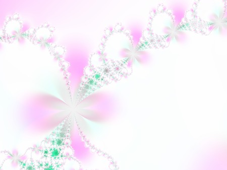 dreamlike: Floral fantasy Stock Photo