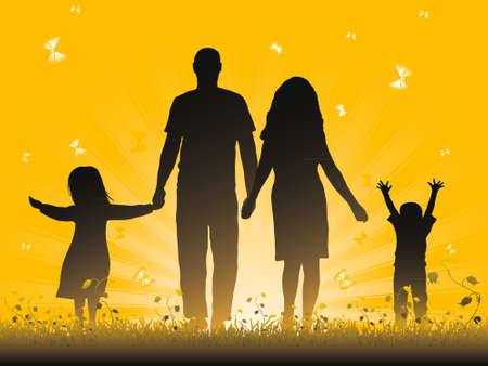 Family Stock Vector - 10280320