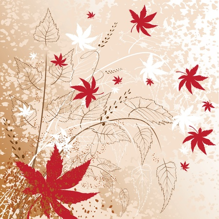 Autumn fantasy Vector