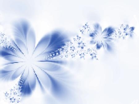 Piękne kwiaty. Ilustracja