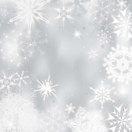 snowing: Winter background. Vector illustration