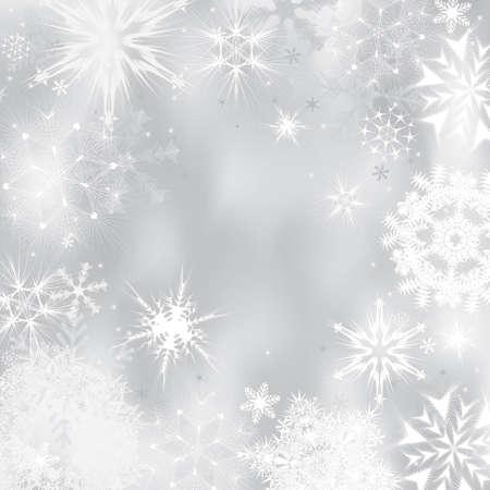 Zima w tle. Ilustracji wektorowych Ilustracja