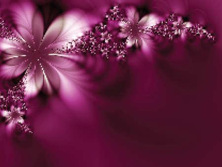 Dreamlike flowers. Vector illustration