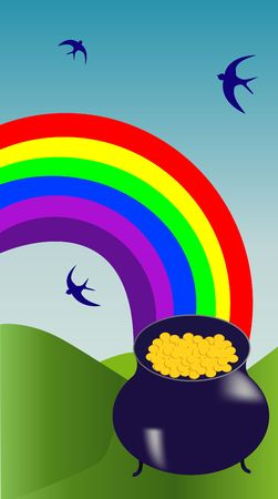 crock: The crock of gold at the end of the rainbow