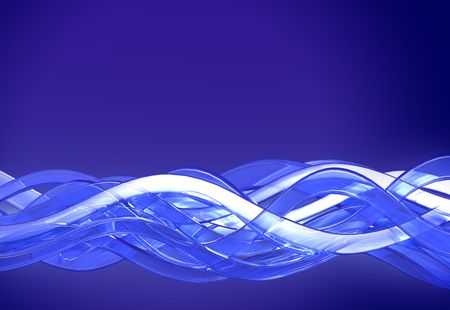 twining: A background of flowing curves Stock Photo