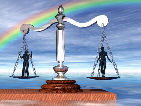judging: Getting weighed on the scales of judgment