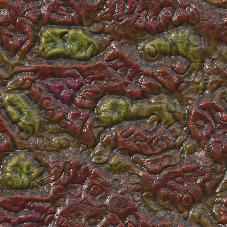 rotting: A seamlessly tessellating background of rotting flesh