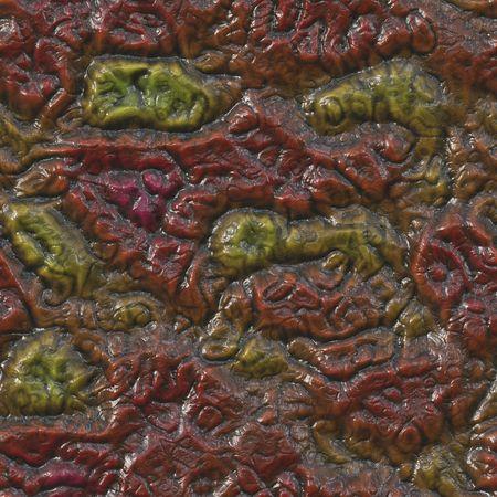 flesh: A seamlessly tessellating background of rotting flesh