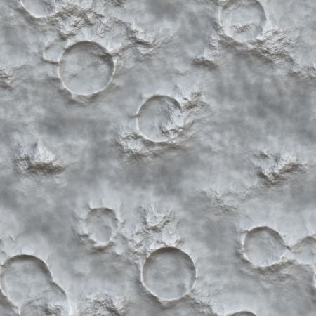 A background of moon craters. This image will tessellate seamlessly.