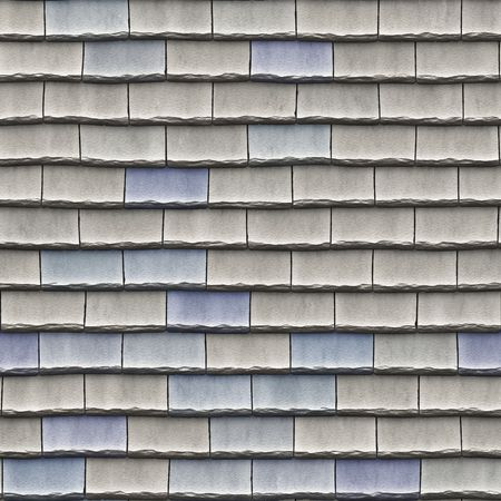 tessellate: A seamless pattern of roof tiles