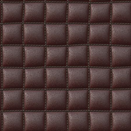 tessellate: A background of stitched leather that will tile seamlessly.