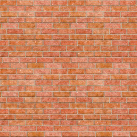 A seamless tiling texture. Illustration of brick work