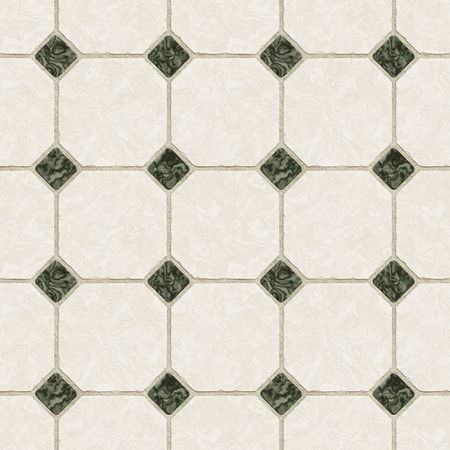 A seamless tiling texture. Illustration of an area of floor tiles