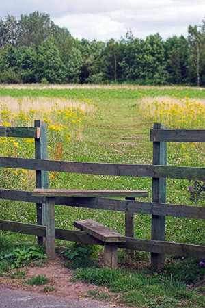 stile: A stile to assist you over a fence