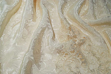 sensuous: A background of sensuous silk and old lace