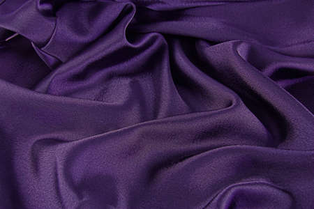 A background of purple satin for that royal look