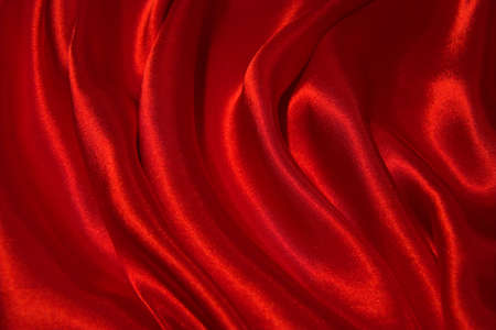 sensuous: A sensuous background of red satin