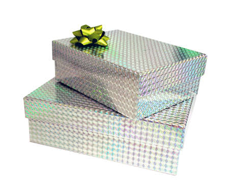 Sparkling bright presents Stock Photo