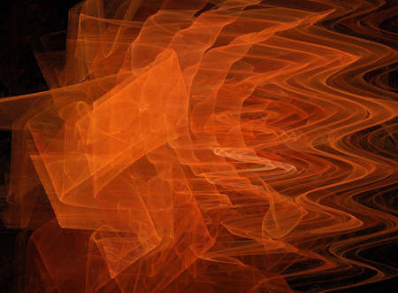 ghostly: A swirling fractal background Stock Photo