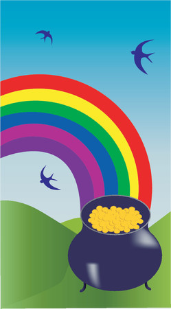 the end of a rainbow: La vasija de oro al final del arco iris
