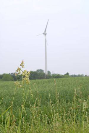 conservational: Wind Turbine in Rural Huron County, Ontario, Canada