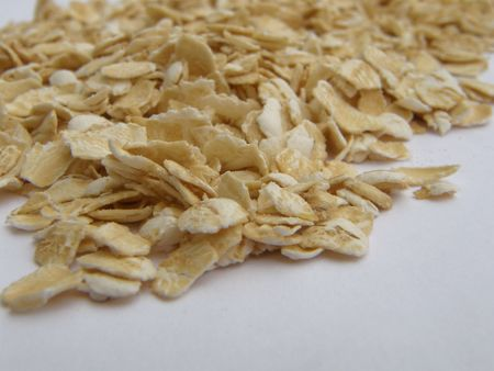 instant five minute oatmeal with shallow depth of field photo