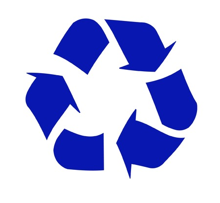 environmental awareness: recycling symbol