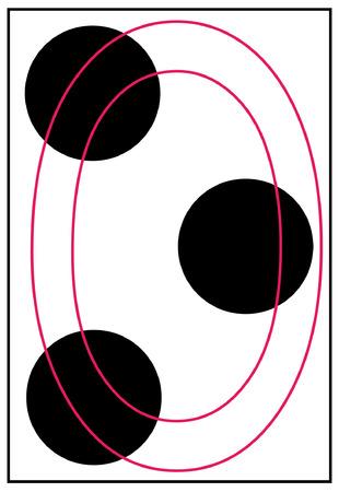 braille: letra inicial o en braille - vector