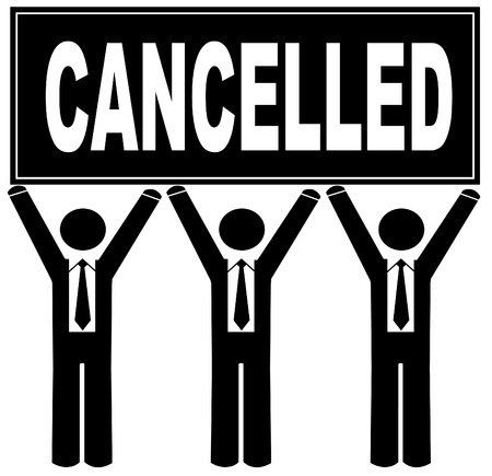 nulo: grupo de hombres que ocupan reg�strate dice que cancela