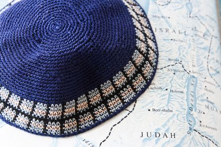 yarmulke: Land of Israel and Judaism