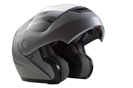 casco moto: Casco de Plata tapa abierta para los deportes de bicicleta de carreras