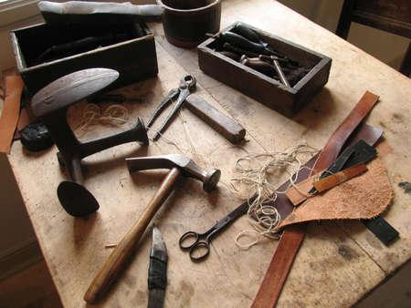 Old shoemakers workshop.