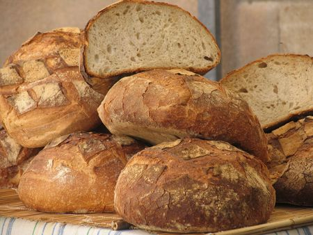 french bread: Pan franc�s.