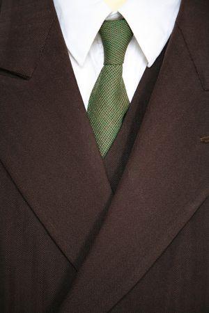 nineteen: Uomo di affari nei diciannove cento forties o anni 50.