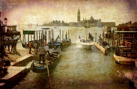 Postcard from Italy. - Venice.