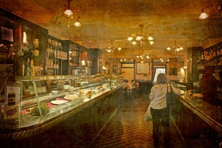 Postcard from Italy. - Caffe Caselli (1846) - Lucca photo