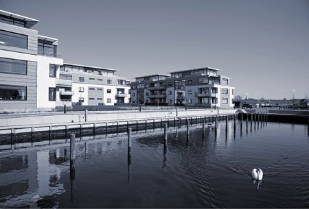 duotone: Modern waterfront condos - Nyborg, Denmark. - Duotone.