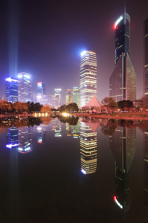 pudong: Skyscrapers in Lujiazui, Pudong, Shanghai