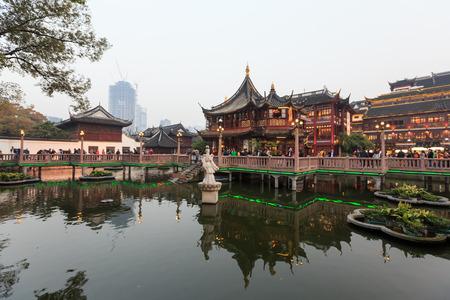 attics: Shanghai chenghuang temple Editorial