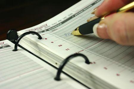 organise: Introducci�n de nombramiento a diario